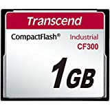 TRANSCEND 1GB CF CARD 300X UDMA5 TYPE I INDUSTRIE