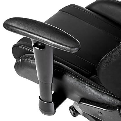 TecTake Silla de oficina ergonomica racing gaming con soporte lumbar – disponible en diferentes colores –
