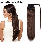 (20 Pouces/50cm) Ponytail Extension Cheveux Naturel Queue de Cheval Extension Long...
