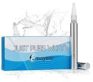 Just Pure Hut Dentist Teeth Whitening Pen Kit - Zero Peroxide - Plus Hollywood Dentist Tips - Plus Weight Loss Tips (ebooks)
