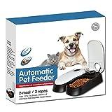 Automatischer Futterautomat Futterspender mit Ice Pack für Haustiere Hunde und Katze 2 Mahlzeiten 2 x 300 ml - 5