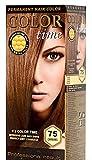 Color Time Haarfarbe Permanent, mit Gelée royale, 75 Karamell