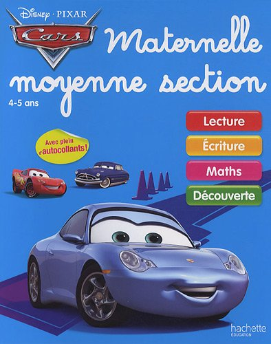 Cars, Maternelle, Moyenne section : 4-5 ans