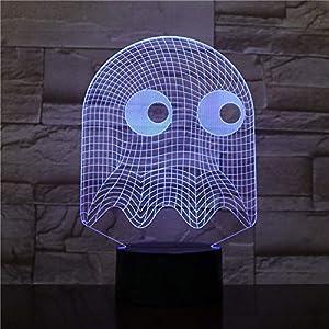 Blbling Lampada Da Tavolo Da Gioco Lampada Da Camera Da Letto Decorativa 3D Illusion Bambino Kit Per Bambini Baby Blinky Luce Notturna Led