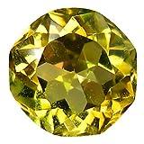 0,61 ct Fancy Cut (5 x 5 mm) Ungeheizter gelber Tanzanit, natürlicher lose Edelstein