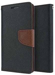 Mobilekabazaar Lenovo K5 plus Brown Color Flip Cover