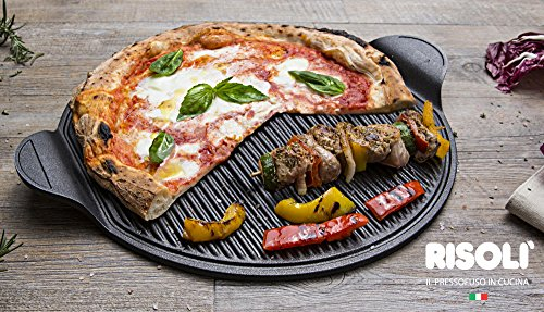 Risoli Pizza Grill 40 x 34 Autograph Gitter Made in Italy