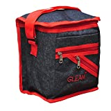 GLEAM Navy Blue with Red Lunch Bag