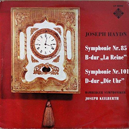 """Joseph Haydn - Symphonie Nr. 85 B-dur """"La Reine"""" Symphonie Nr. 101 D-dur """"Die Uhr"""" - Telefunken - LT 43 015"""