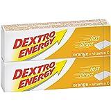 Dextro Energy dextrose orange avec de la vitamine C, double bâton - 94g