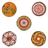 Morella donna Click-Button set 5pcs bottoni automatici giocoso Caleidoscopi