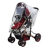 Gosear Transparente Kinderwagen Regen Abdeckung Staubdicht Kälte Wind Protector Wetter Wasserdicht Schild für Baby Hoch Landschaft Kinderwagen