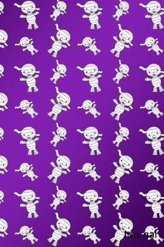 Journal: Purple mummy notebook