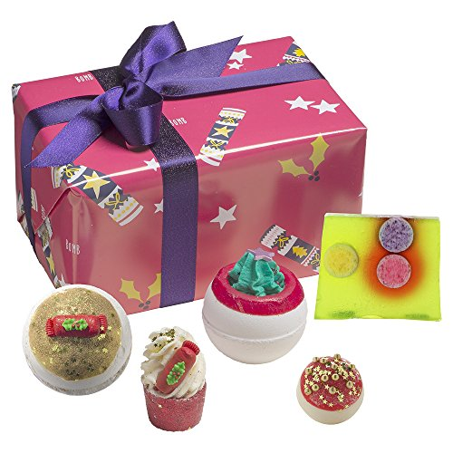Bomb Cosmetics Crackerlackin' Handgefertigte Geschenkpackung
