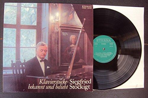 Klavierstücke bekannt und beliebt. Siegfried Stöckigt Stereo -