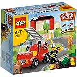 LEGO Briques - 10661 - Jeu de Construction - Ma Première Caserne de Pompiers