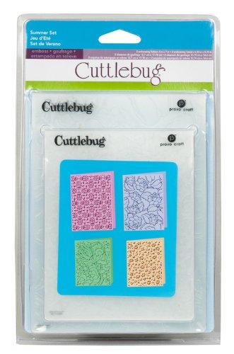 2001315 Cuttlebug goffratura cartella Summer Set 4 Pezzi 2,23 x