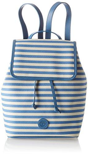 Timberland Damen Mini Backpack Rucksack, Blau (Nebulas Blue), 14x31x14 centimeters