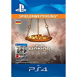 FOR HONOR: 5000 STAHL-Paket [PS4 Download Code – deutsches Konto]