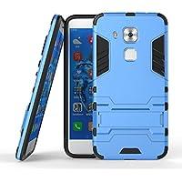 Cover Huawei Nova Plus, CHcase Huawei Nova Plus Doppio Strato ibrido Cellulari custodie Assorbimento Scossa Protezione Silicone Custodie con Supporto per Huawei Nova Plus -Blue Armatura