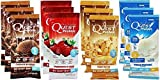 Quest Nutrition Quest Protein Powder Milkshake Single Serve Pouches, Variety Pack, 12 Count