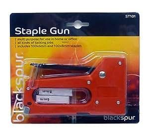 Blackspur BB-ST101 Plastic Staple Gun with 200 Staples