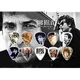 Bob Dylan Púa Para Guitarra Display Classic Recordings
