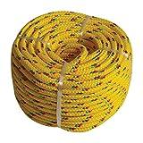 Kunststoffseil PP Polypropylen Polyseil gelb 20mx6mm