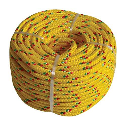 Preisvergleich Produktbild Kunststoffseil PP Polypropylen Polyseil gelb 20mx6mm