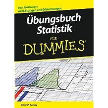 Ubungsbuch Statistik Fur Dummies (F?r Dummies) by Deborah J. Rumsey (2008-03-05)