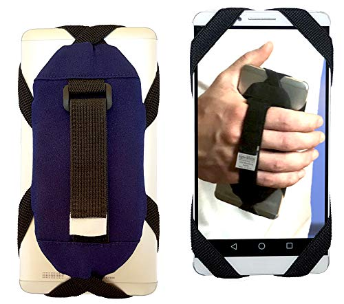 Smartphone Griff für Läufer, Handyhalterung für einfaches Musikhören beim Laufen, Running, passend für alle iPhone, Samsung Galaxy, Huawei, LG, Sony, Smartphonehalter für die Hand, Handyhalter