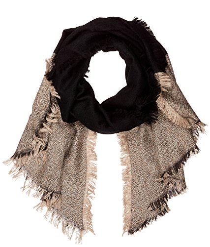 PIECES Damen Schal PCJANETT Long Scarf, Mehrfarbig (Black), One Size