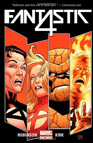 Fantastic Four Volume 1: The Fall of the Fantastic Four by James Robinson (9-Sep-2014) Paperback