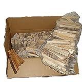 22 kg mumba® Anzündholz mit Kienspänen Anfeuerholz kammergetrocknet Kaminanzünder