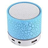 #4: Lambent Wireless Mini LED Lights Bluetooth Speaker - FM Radio, Micro- Assorted Color