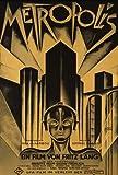Metropolis Poster Movie German D 11 x 17 In - 28cm x 44cm Brigitte Helm Alfred Abel Gustav Froehlich Rudolf Klein-Rogge Fritz Rasp Heinrich George