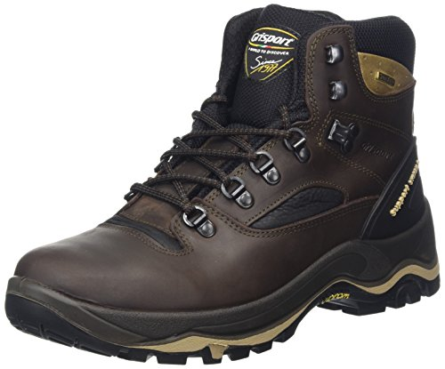Grisport Men's Quatro Hiking Boot Brown CMG614, 43 EU