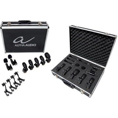 Alpha Audio 170840 MIC Drumbox 7 Microphone Nouveau Modèle
