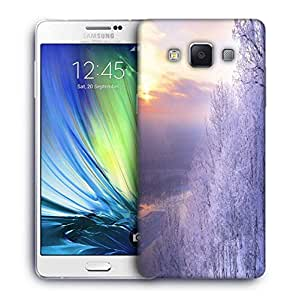 Snoogg White Tree Designer Protective Phone Back Case Cover For Samsung Galaxy ON5