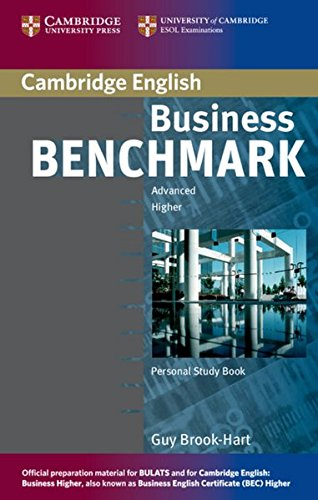 Business Benchmark. Personal Study Book: Advanced