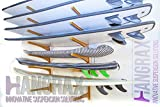 Hangrax Solutions de Suspension innovant Large Simple Garage de rangement pour planche de surf, canoës, Snowboard/vélo, câbles, etc.