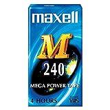 Maxell M 240 VHS - Cinta de audio/video (240 min)
