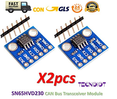 2pcs SN65HVD230 CAN Bus Transceiver Communication Module for Arduino Booster Jumper-kabel