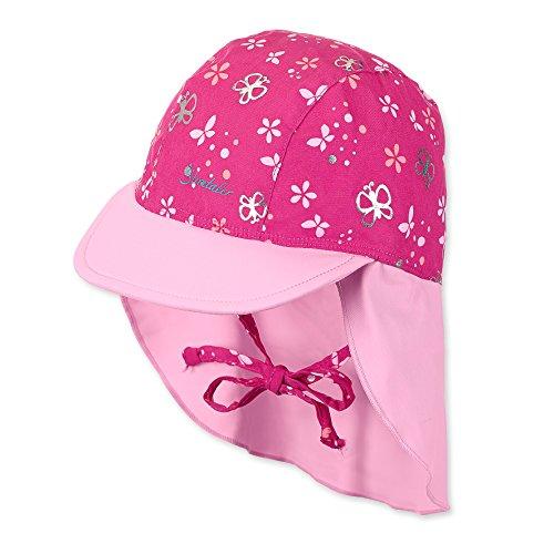 Sterntaler Baby-Mädchen Kappe 2501897, Pink (Magenta 745), 49