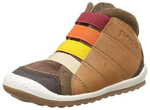 GarvalinWigan - Sneaker Bambino , Marrone (Marron(C/Cuero Y Taupe)), 27