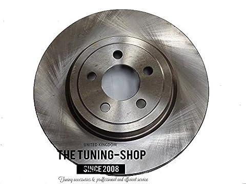 Bremsscheibe vorne Rotoren mit Durchmesser 345mm 53023A für Chrysler 300C Dodge Charger Challenger