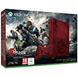 Xbox One S 2 Tb Rossa + Gears of War 4 [Bundle Limited Serigrafato]