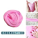 #8: Embernation Best Pink Fluffy Slime for Kids and Adults to Relieve Stress and Play while Exploring Creativity, Stretchy, Soft with a Delightful Scent, Beautiful Package for Storage and Party Favor
