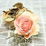 Andouy Romantico Vetro Rosa Decorazione di Nozze Arredamento per la casa Regali di Festa