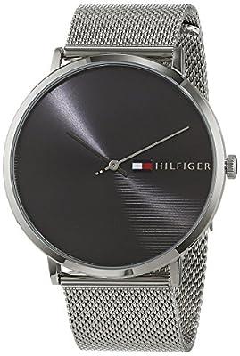 Tommy Hilfiger Reloj Analógico para Hombre de Cuarzo con Correa en Acero Inoxidable 1791465